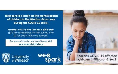 Children's Mental Health Study during COVID-19 in Windsor-Essex