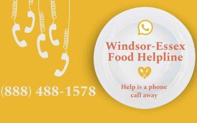 New Windsor-Essex Food Helpline provides emergency food assistance to people in need